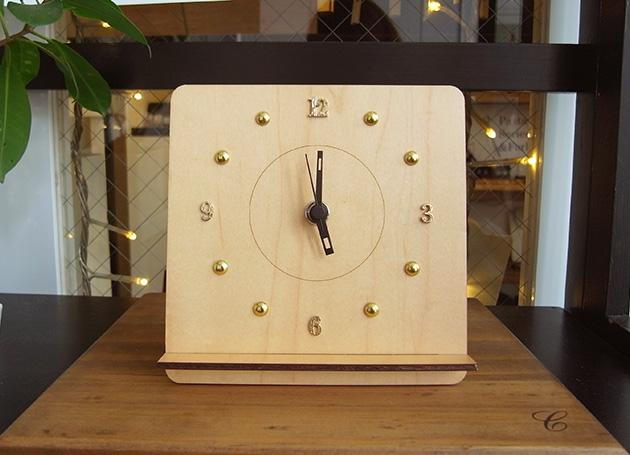 創業祭イベント『Decorate a Wooden Clock』ー終了いたしました